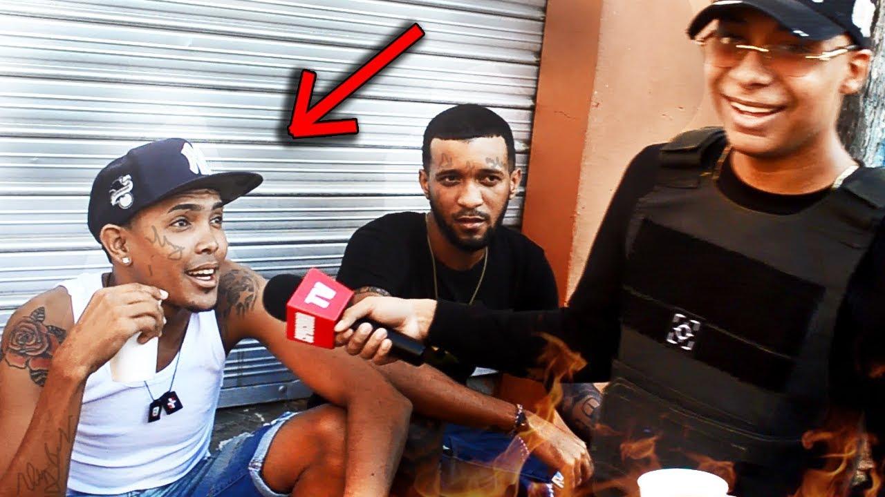Esto es lo mas PROFUNDO de Republica Dominicana EL BARRIO HAINA / Consiguendo gringas !