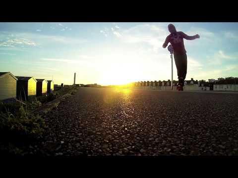 Skating that sunset