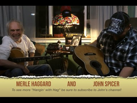 Merle Haggard Jams with John Spicer part 2