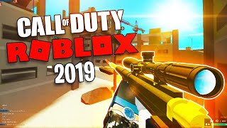 I Played Call Of Duty Roblox In 2019...