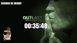 OUTLAST WHISTLEBLOWER - SPEEDRUN NO OoB PS4 (00:35:48 W/LOAD)