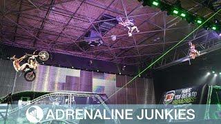 Amazing Stunts Performed At ArenaCross