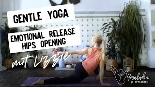 45 Min Gentle Yoga Flow mit Lizzie  | Emotional release & hips opening | all level