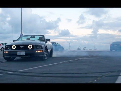 STREET RACING/DRIFTING on Mustang GT @ Los Angeles CA