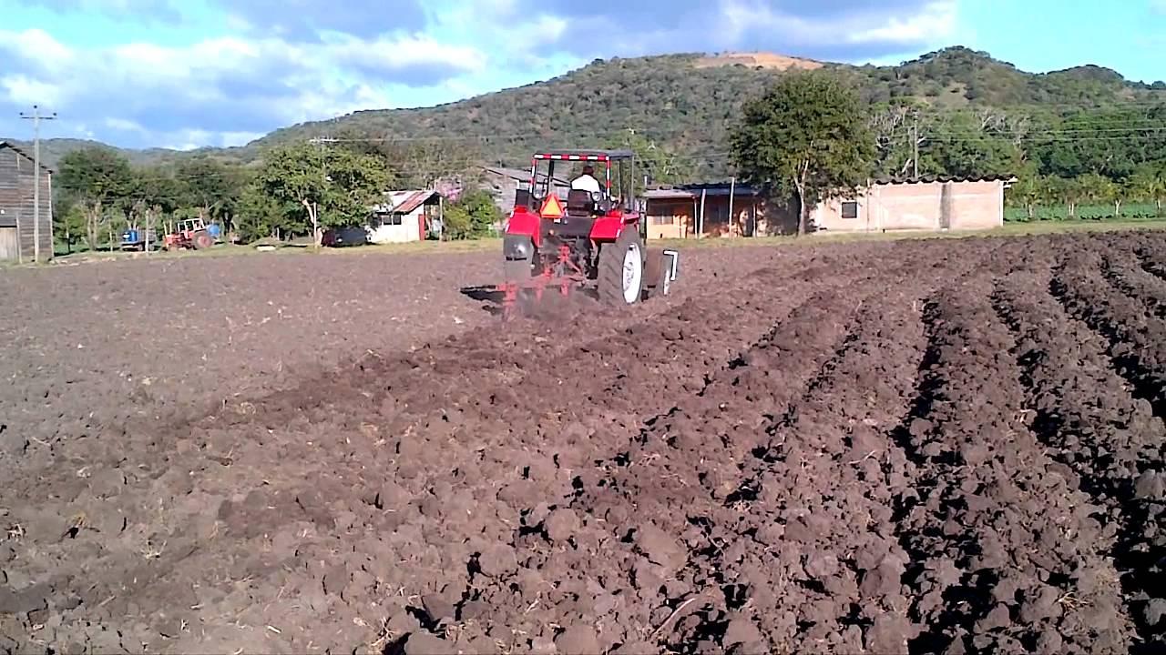 Preparacion de tierra con arado de disco youtube - Preparacion de la tierra para sembrar ...