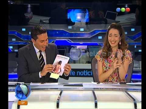 El primer libro de  Cristina Pérez  -Telefe Noticias