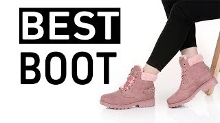 Best Lace up Solid Casual Ankle Boots For Women