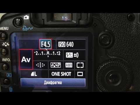 Видео урок фотоаппарат кенон д1 марк 2 настройки