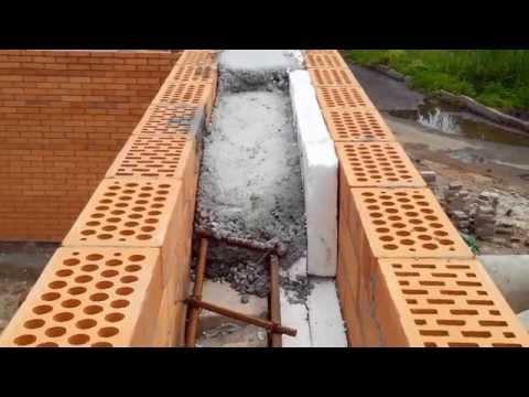 видео: Армированный пояс. Просто и быстро!