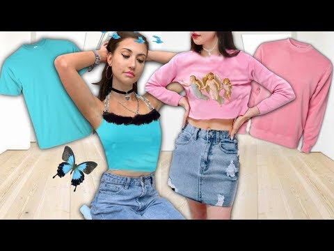 THRIFT FLIP | thrift store clothing *makeover transformation*