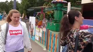 Смотреть видео [Псв 5] Лето в парке сокольниках, какие там есть аттракционы, 4-D и 5-D кинотеатр, стреляем в тире онлайн