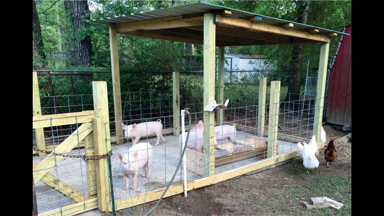 Pig house plans in the philippines for Cost to build a house in iowa