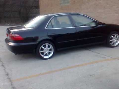 My 99 Accord With New Rims