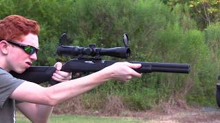 Ruger integrally suppressed barrel for 10/22 take down