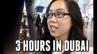 3 HOURS IN DUBAI! - August 04, 2017 -  ItsJudysLife Vlogs