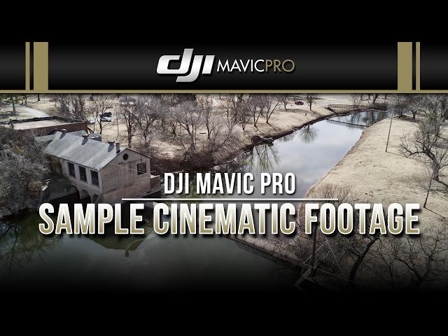 DJI Mavic Pro / Sample Cinematic Footage (Randlett Park in Anadarko, OK)