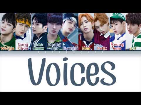 STRAY KIDS (스트레이 키즈) - VOICES (Color Coded Lyrics Eng/Han/Rom)