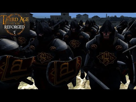 OSGILIATH REBUILT, THE JEWEL OF THE KINGDOM (Siege Battle) - Third Age: Total War (Reforged)