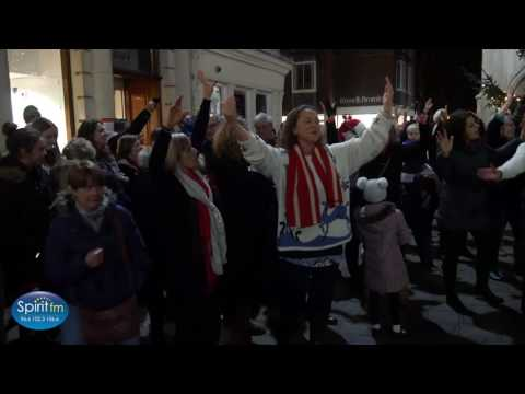 Flash Mob in Chichester
