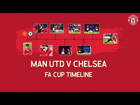 Manchester United Timelines | United v Chelsea in the FA Cup