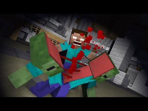 Monster School: God Of War - Minecraft Animation