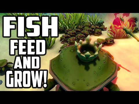 Feed And Grow Fish - CRAB ARMY VS EVIL KING CRAB (Early Access Gameplay)