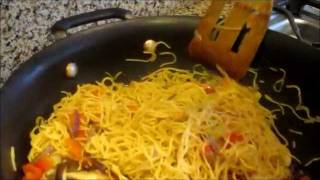 How To Make Chow Mein Noodle