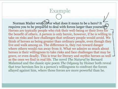 how to write an introduction to an essay example