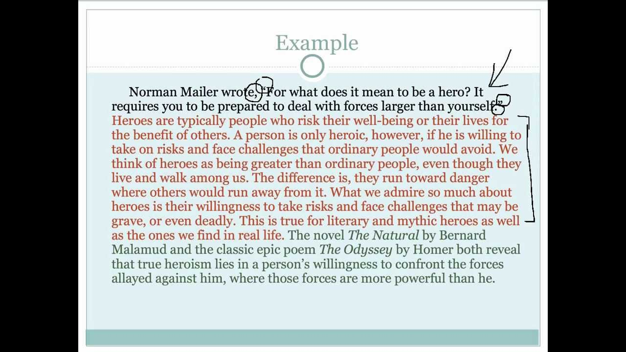 How to write a great introduction paragraph