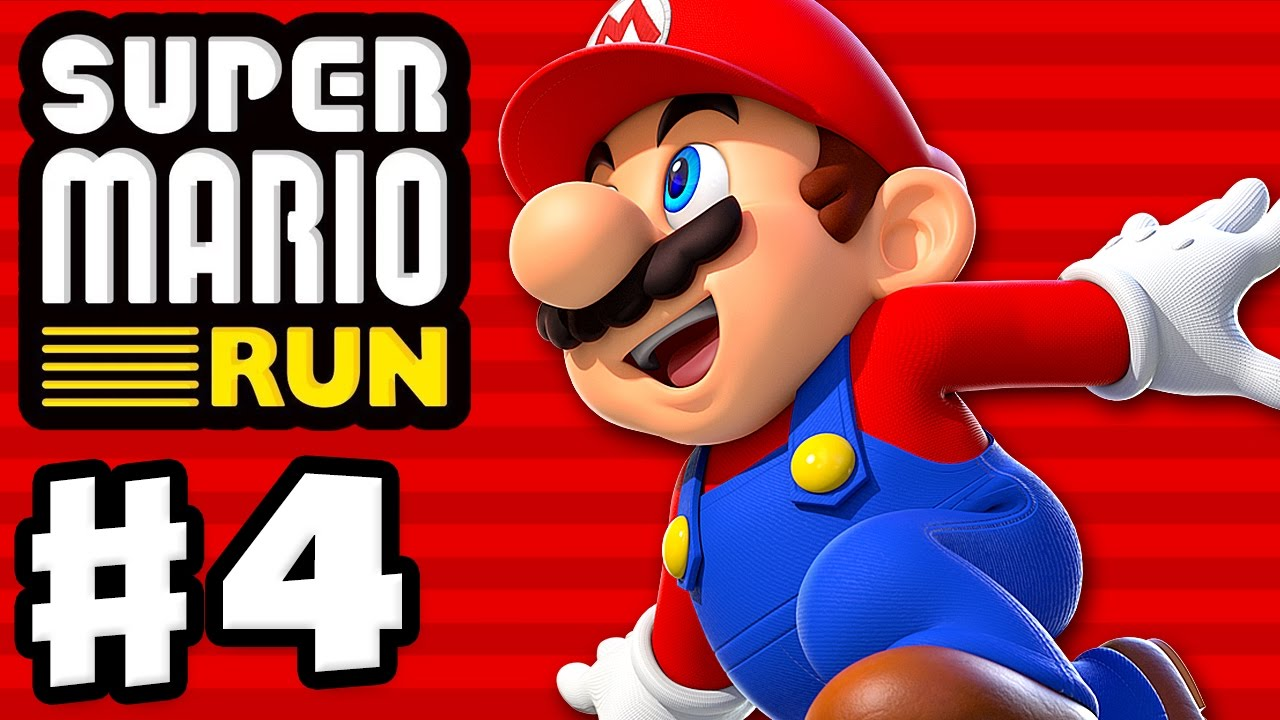 Super Mario Run - Gameplay Walkthrough Part 4 - World 4! All Pink Coins!  Toad Rally! (iOS)