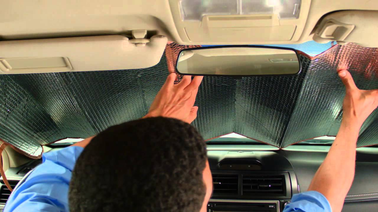 Sun Blocker For Car >> Auto Expressions How To Properly Set Up Sun Shades