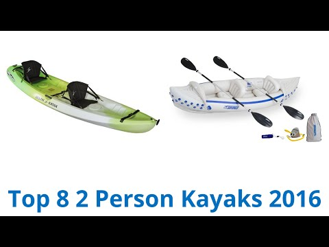 8 Best 2 Person Kayaks 2016