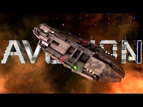 Awesome Light Corvette Design | Avorion Gameplay
