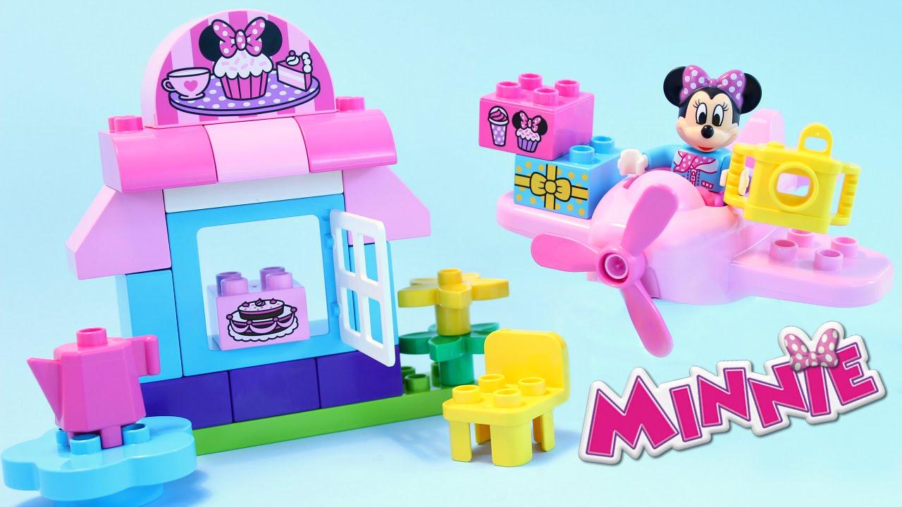 Cafetería de Minnie Mouse Bloques de Construcción Lego Duplo Disney ...