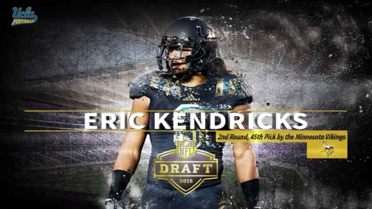 01605c228e1 Eric Kendricks Drafted by the Minnesota Vikings - YouTube