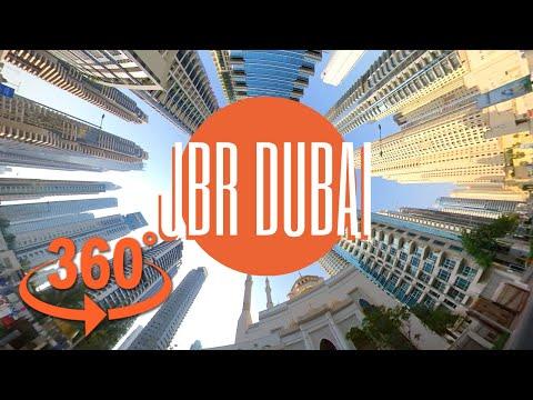 Jumeirah Beach Residence Dubai | 360 video