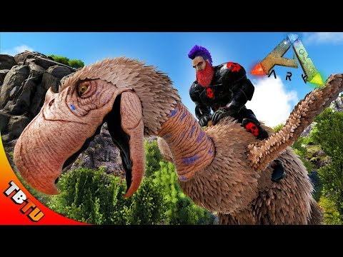 RULING RAGNAROK WITH TERROR BIRDS! SUPER ANKY TAMING! Ark Survival Ragnarok Bush People E4