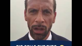 vuclip BAD BLOOD: Rio Ferdinand calls out Patrice Evra ahead of Carrick's testimonial
