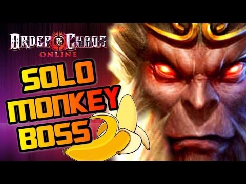 Order And Chaos Online - SOLO Monkey Boss