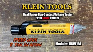 SAFETY! Klein Tools Non-Contact Voltage Tester with Laser Pointer Review - NCVT-5A