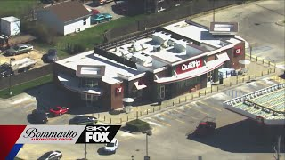 Search For Suspect After Shooting In North St. Louis County QuikTrip