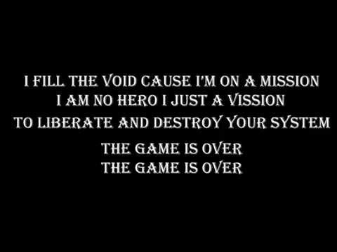 Korn - The Game Is Over with Lyrics