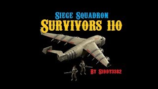 War Commander - Survivors (110) Siege Squadron Base/Parts.
