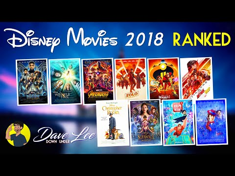 DISNEY MOVIES 2018 - All 10 Movies Ranked Worst To Best