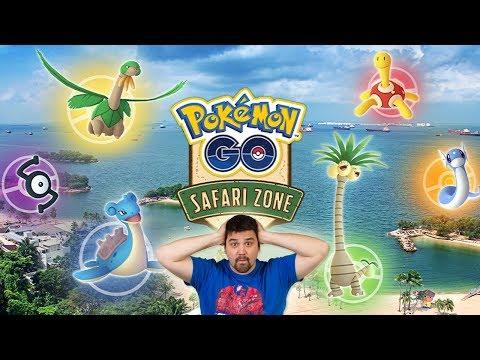 ¡ACTUALIZACIÓN REGIS de RECOMPENSA SEMANAL y NUEVO SAFARI ZONE en SENTOSA en Pokémon GO! [Keibron]