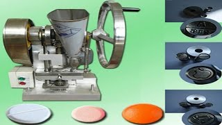 tablets making machine powder granules herbal vitamin tablet pressing equipment single punch press