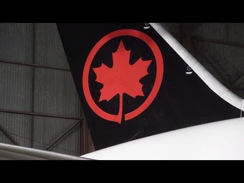 Air Canada Computer Issues Ground Planes