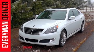 2014 Hyundai Equus Review on Everyman Driver смотреть