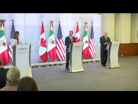 Secretary Tillerson at Press Availability with Mexican and Canadian Counterparts - Feb. 2, 2018