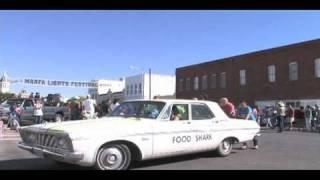 Food Shark vehicles -  Marfa Lights Parade 2010